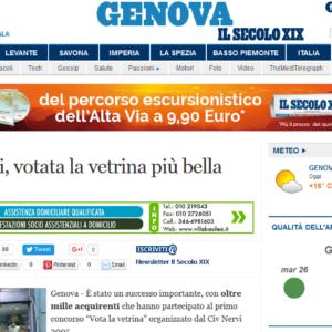 Civ di Nervi, votata la vetrina più bella - Liguria - Genova - Il Secolo XIX 2016-04-26 15-47-28